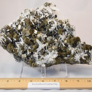Quartz Crystals on Pyrite