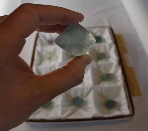 Fluorite Octahedral
